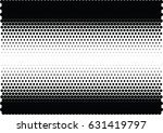 abstract halftone dotted... | Shutterstock .eps vector #631419797