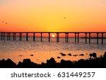 sunrise landscape  sea with...   Shutterstock . vector #631449257