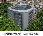 air conditioning and heating... | Shutterstock . vector #631469783