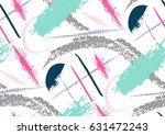 vector seamless pattern with... | Shutterstock .eps vector #631472243