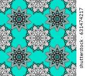 ornamental lace tracery.... | Shutterstock . vector #631474217