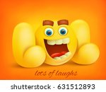 lol concept illustration with... | Shutterstock .eps vector #631512893