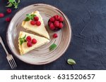 Homemade Cheesecake With Fresh...