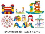 different types of play... | Shutterstock .eps vector #631571747