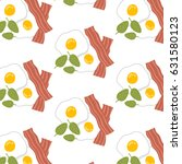 cute pattern with eggs and... | Shutterstock .eps vector #631580123