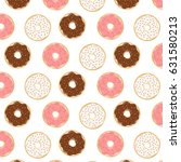 cute pattern with different... | Shutterstock .eps vector #631580213