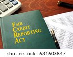 fcra fair credit reporting act... | Shutterstock . vector #631603847