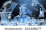 machine learning systems  ... | Shutterstock . vector #631608677