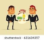 office worker man character... | Shutterstock .eps vector #631634357