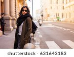 young woman thinking in the... | Shutterstock . vector #631643183