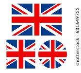 vector illustration of british... | Shutterstock .eps vector #631649723