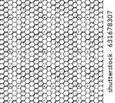 vintage seamless hexagons...   Shutterstock .eps vector #631678307