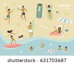 Vector Summertime Cartoon...