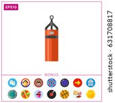 punching bag icon | Shutterstock .eps vector #631708817
