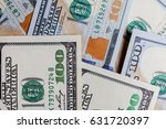 many banknotes in face value of ... | Shutterstock . vector #631720397