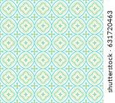 oriental seamless pattern in... | Shutterstock .eps vector #631720463