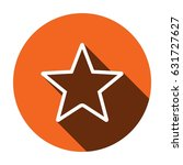 star vector flat pictograph...
