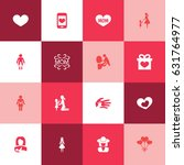 mothers day icon design concept.... | Shutterstock .eps vector #631764977