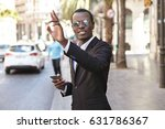 friendly looking successful...   Shutterstock . vector #631786367