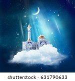 ramadan kareem background with... | Shutterstock . vector #631790633