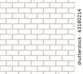 white seamless brickwall with... | Shutterstock .eps vector #63180214
