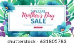 template design discount banner ... | Shutterstock .eps vector #631805783