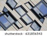 photo of windows taken from low ... | Shutterstock . vector #631856543