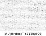 white stone wall from bricks as ... | Shutterstock . vector #631880903
