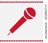 microphone icon vector  voice...