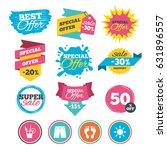 sale banners  online web... | Shutterstock .eps vector #631896557