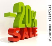 percent discount sign  sale up... | Shutterstock . vector #631897163