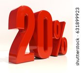 percent discount sign  sale up... | Shutterstock . vector #631899923