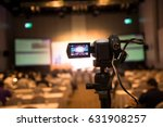video camera in business... | Shutterstock . vector #631908257