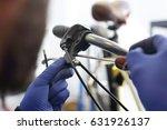 brake brake repair. the... | Shutterstock . vector #631926137