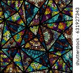seamless background pattern.... | Shutterstock .eps vector #631927343