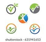human character logo sign | Shutterstock .eps vector #631941653