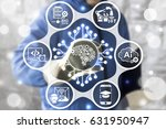 artificial intelligence and... | Shutterstock . vector #631950947