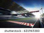 F1 Motion Blur Race Track