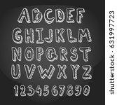 Hand Drawn Alphabet Letters....