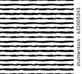 painted striped pattern.... | Shutterstock .eps vector #632005343