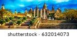 barcelona  catalonia  spain  ... | Shutterstock . vector #632014073