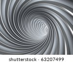 abstract tunnel | Shutterstock . vector #63207499