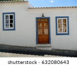 typical portugal house with... | Shutterstock . vector #632080643