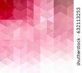 geometric pattern  triangles...   Shutterstock .eps vector #632113253