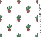 seamless pattern with cute...   Shutterstock .eps vector #632154893