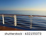 sea view from cruise ship open... | Shutterstock . vector #632155373