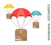 flat design. vector... | Shutterstock .eps vector #632164013