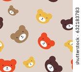 fun seamless pattern texture...   Shutterstock . vector #632183783
