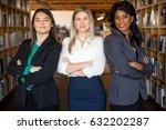 career business women group... | Shutterstock . vector #632202287
