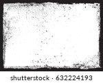 vector grunge frame.grunge... | Shutterstock .eps vector #632224193